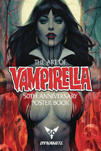Image: Vampirella 50th Anniversary Poster Collection SC  - Dynamite