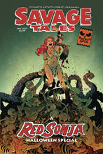 Image: Savage Tales Red Sonja Halloween Special  - Dynamite