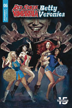 Image: Red Sonja & Vampirella Meet Betty & Veronica #6 (cover A - Dalton) - Dynamite