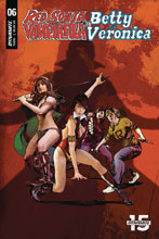 Image: Red Sonja & Vampirella Meet Betty & Veronica #6 (cover E - Staggs) - Dynamite