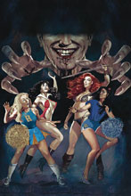 Image: Red Sonja & Vampirella Meet Betty & Veronica #6 (variant cover - Dalton virgin) - Dynamite