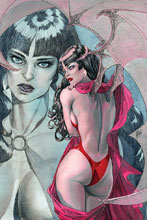 Image: Vampirella Vol. 05 #4 (incentive 1:40 cover - March virgin)  [2019] - Dynamite