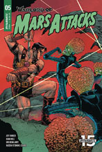 Image: Warlord of Mars Attacks #5 (cover C - Melnikov) - Dynamite