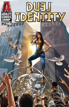 Image: Duel Identity #2 (cover B - Gold Holographic Foil) - Absolute Comics Group / Red Gi