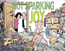 Image: Not Sparking Joy - A Zits Collection SC  - Andrews Mcmeel