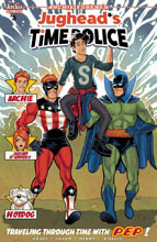 Image: Jughead's Time Police #5 (cover B - Schoonover) - Archie Comic Publications
