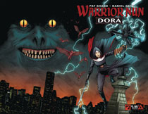 Image: Warrior Nun: Dora #2 (Wraparound cover) - Avatar Press Inc