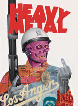 Image: Heavy Metal #296 (cover A - Eaton) - Heavy Metal Magazine