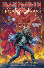 Image: Iron Maiden - Legacy of the Beast Expanded Edition SC  - Heavy Metal Magazine