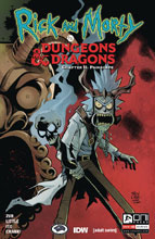 Image: Rick and Morty vs. Dungeons & Dragons II: Painscape #2 (cover A - Little) - Oni Press Inc.