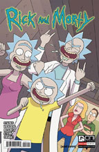 Image: Rick and Morty #55 (cover A - Ellerby) - Oni Press Inc.