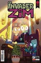 Image: Invader Zim #48 (cover B - Bones) - Oni Press Inc.