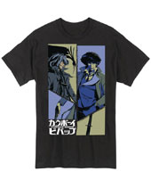 Image: Cowboy Bebop T-Shirt: Spike and Vicious  (M) - Great Eastern Entertainment