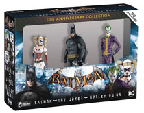 Image: DC Batman Arkham Asylum 3 Figurine Box Set  - Eaglemoss Publications Ltd