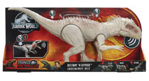 Image: Jurassic World Destroy N Devour Indominus Rex Figure Case  - Mattel Toys