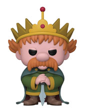 Image: Pop! Animation Vinyl Figure: Disenchantment - King Zog  - Funko