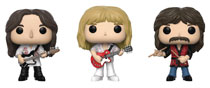 Image: Pop! Rocks Vinyl Figure: Rush 3-Pack - Geddy, Alex, Neil  - Funko