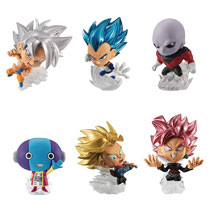 Image: Dragon Ball Super Warriors 12-Piece Mini Figure Blind Mystery Box Display  - Bandai Shokugan