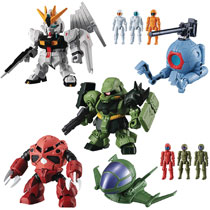 Image: Mobile Suit Gundam Micro Wars 3 10-Piece Assortment  - Bandai Shokugan