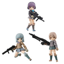 Image: Desktop Army Little Armory Vol. 1 3-Piece Display  - Megahouse Corporation