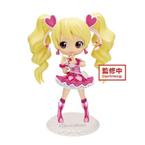Image: Fresh Pretty Cure Q-Posket Figure: Cure Peach  - Banpresto