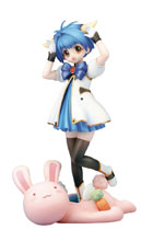 Image: Galaxy Angel PVC Figure: Mint Blancmanche  - Broccoli