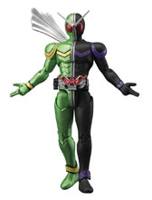 Image: Kamen Rider Double Fig-Rise Standard Model Kit: Cyclone Joker  - Bandai Hobby