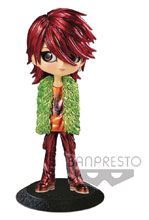 Image: X Japan Q-Posket Figure: Hide V5 Metallic  - Banpresto