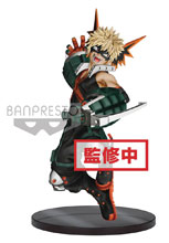 Image: My Hero Academia Figure: Amazing Heroes V3 Katsuki Bakugo  - Little Buddy, LLC