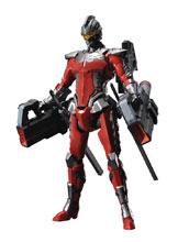 Image: Ultraman Suit Ver 7.3 Fully Armed Fig-Rise Standard Model Kit  - Bandai Hobby