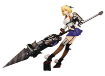 Image: God Eater 3 PVC Figure: Claire Victorious  (Amiami Smiling version) (1/7 scale) - Plum