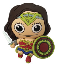 Image: DC Heroes 3D Foam Magnet: Wonder Woman  - Monogram Products
