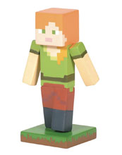 Image: D56 Minecraft Figure: Alex  (2.6-Inch) - Enesco Corporation