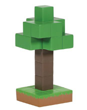 Image: D56 Minecraft Figure: Tree  (4.75-Inch) - Enesco Corporation