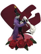 Image: DC Heroes Statue: Joker & Harley Quinn  (Wedding Cake Style) - Factory Entertainment