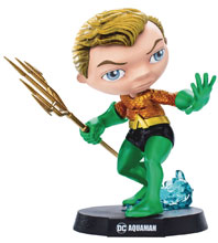 Image: Mini Co. Heroes DC Comics Vinyl Statue: Aquaman  - Iron Studios