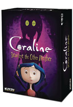 Image: Coraline Board Game: Beware The Other Mother  - Wizkids/Neca