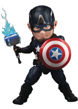 Image: Avengers Endgame EAA-104 PX Action Figure Captain America  - Beast Kingdom Co., Ltd