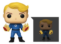 Image: Pop! Marvel Fantastic Four Specialty Series Vinyl Figure: Human Torch  - Funko