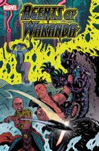 Image: Black Panther and the Agents of Wakanda #5 (incentive 1:25 cover - Warren) - Marvel Comics