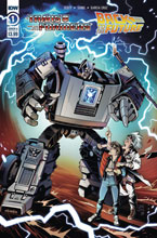 Image: Transformers / Back to the Future #1 (cover A - Juan Samu) - IDW Publishing