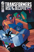 Image: Transformers #24 (cover B - Red Powell) - IDW Publishing