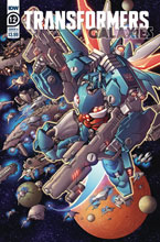 Image: Transformers: Galaxies #12 (cover A - Griffith) - IDW Publishing