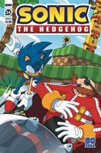Image: Sonic the Hedgehog #34 (cover B - Peppers) - IDW Publishing