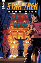 Image: Star Trek: Year Five #16 - IDW Publishing