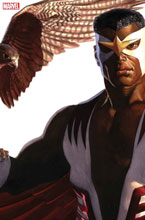 Image: Captain America #24 (variant Alex Ross Timeless cover - Falcon) - Marvel Comics