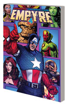Image: Empyre: Captain America and Avengers SC  - Marvel Comics
