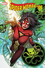 Image: Spider-Woman #100 by Greg Land Poster  - Marvel Comics
