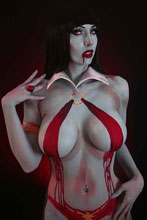 Image: Vampirella Vol. 05 #15 (incentive 1:25 cover - Cosplay virgin) - Dynamite