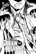 Image: Green Hornet Vol. 03 #4 (incentive 1:10 cover - Marques B&W) - Dynamite